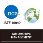 IATF 16949:2016 Certified