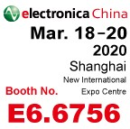YDS in electronica China 2020